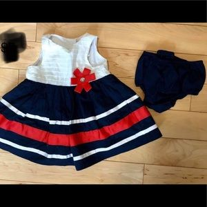 Other - Patriotic Dress 6 months